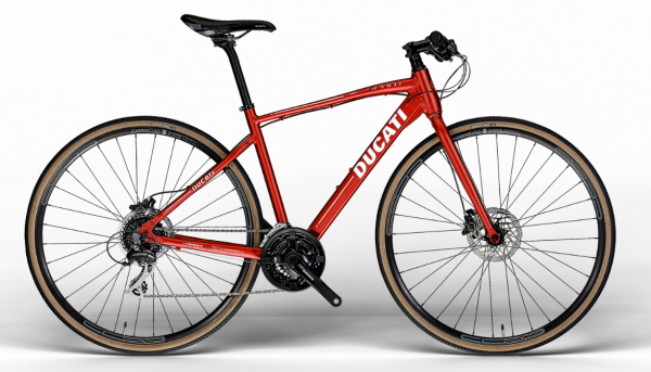 Ducati SPORT DISC 28 Zoll SHIMANO Ducati Red