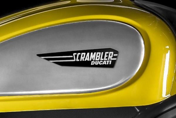 Ducati Satz Tankaufkleber Icon Logos für Scrambler 800