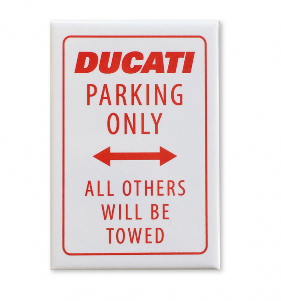 Ducati Original PARKING ONLY MAGNET
