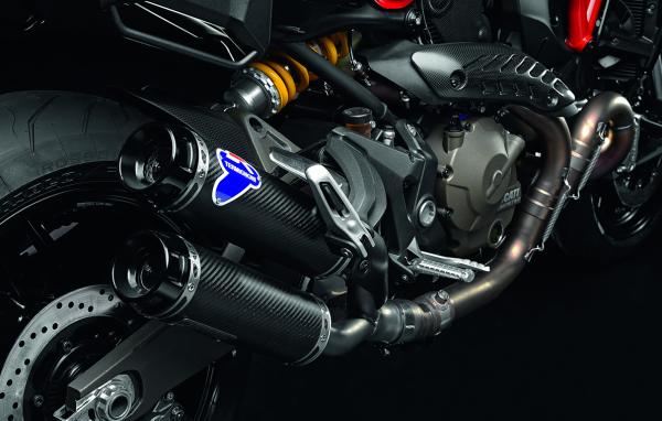 Ducati Original Kit Racing-Schalldämpfer aus Kohlefaser Monster 821