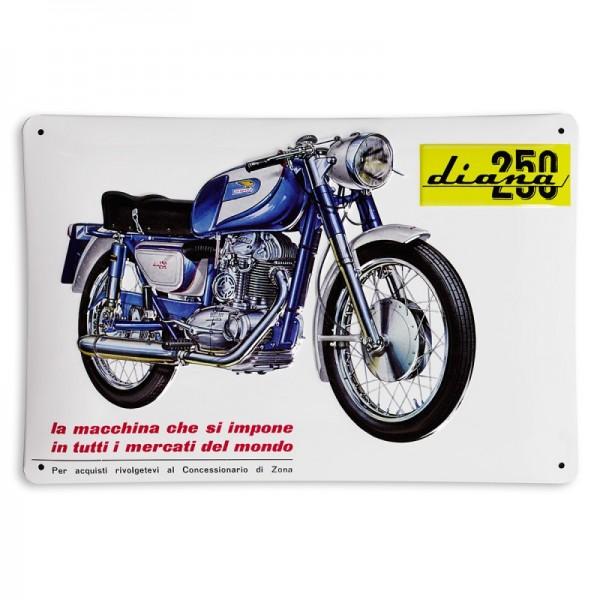Ducati Metallschild Diana 250