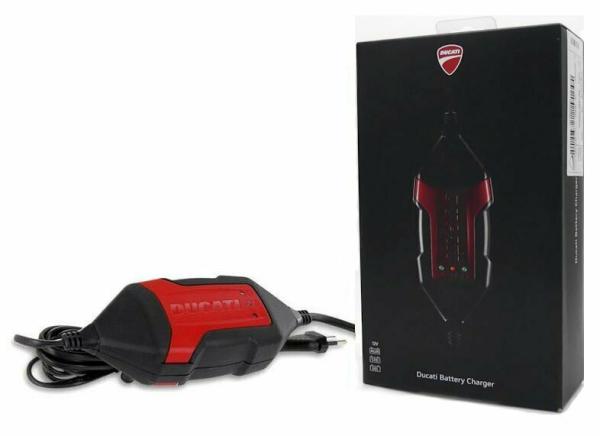 Ducati Batterie Ladegerät incl. Adapter Euro 5 69928471B