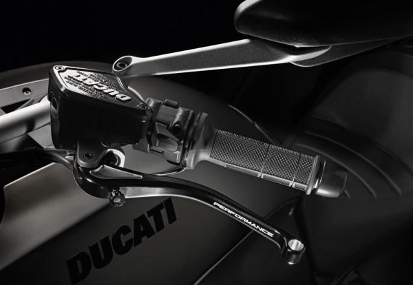Ducati Original Kit Brems- und Kupplungshebel aus Aluminium für Diavel