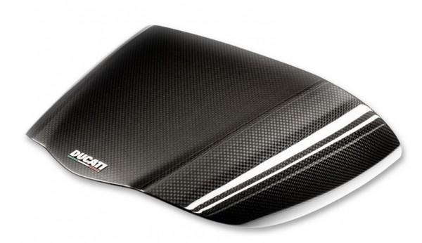 Ducati Original Sozius-Sitzbankabdeckung aus Kohlefaser für Diavel