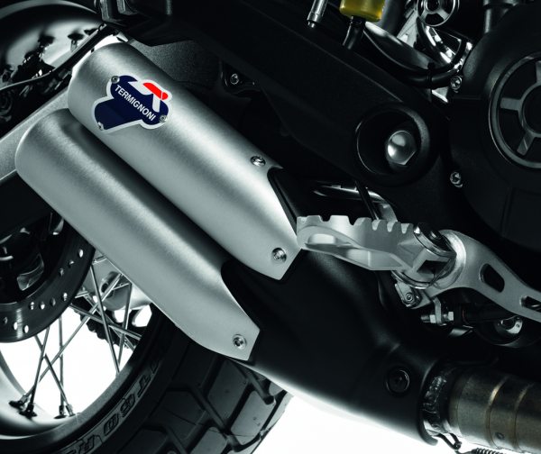 Ducati Original Cover für zugelassenen Schalldämpfer Monster 797/Scrambler Silber