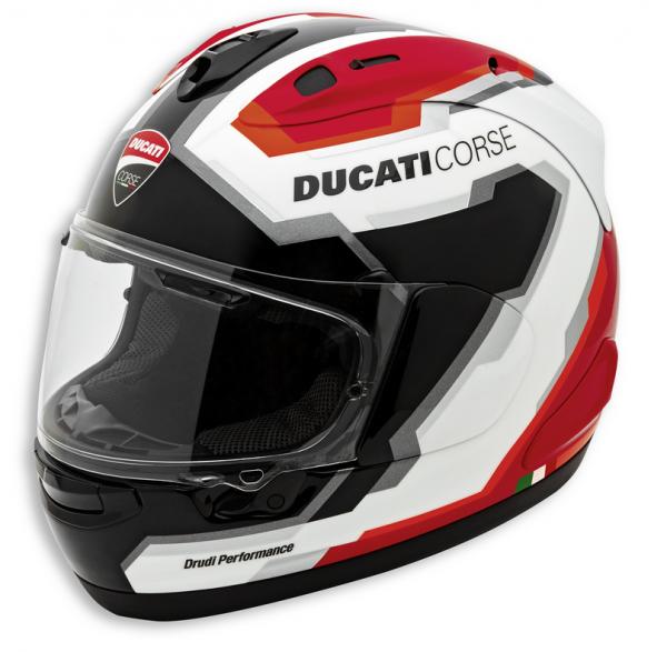 Ducati Original INTEGRALHELM DUCATI CORSE V5 Arai ECE
