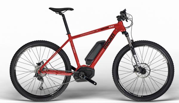 Ducati Mountainbike Hardtail MTB SCR 100 SHIMANO Ducati Red