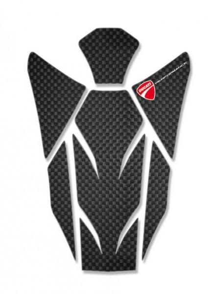 Ducati Original Tankpad aus Kohlefaser für Streetfighter