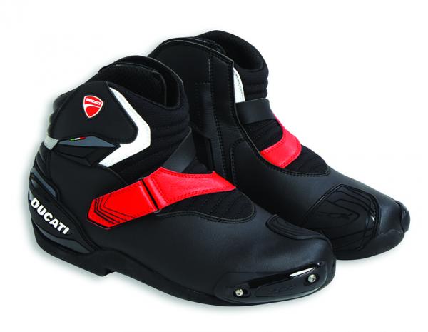 Ducati Original kurze Motorradstiefel THEME