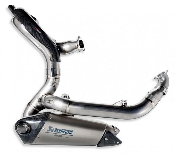 Ducati Original RACING-AUSPUFFEINHEIT KOMPLETT 1299/959
