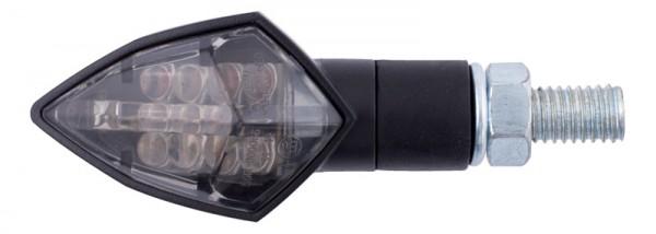 iXS LED Blinker schwarz getönt