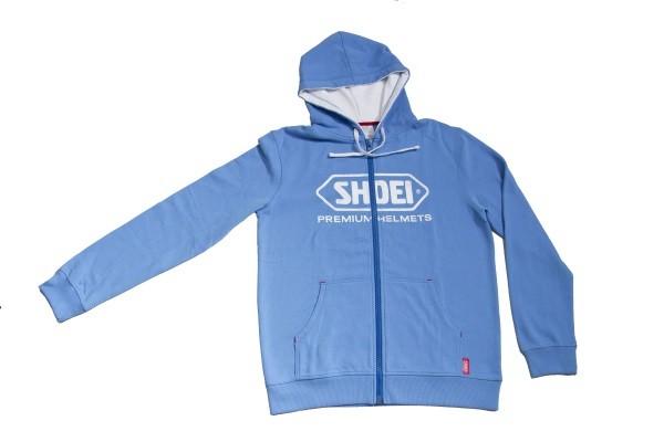 Shoei Zip Hoody blau in verschiedenen Größen