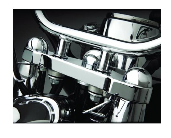 Big Bike Parts Gabel Abdeckkappen für VT 750 Aero und Spirit