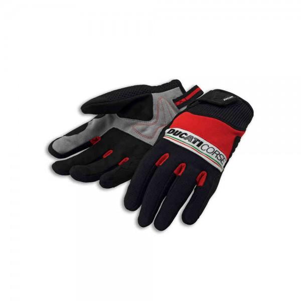 Ducati Pitlane 2 Herren Textil Werkstatt Handschuhe