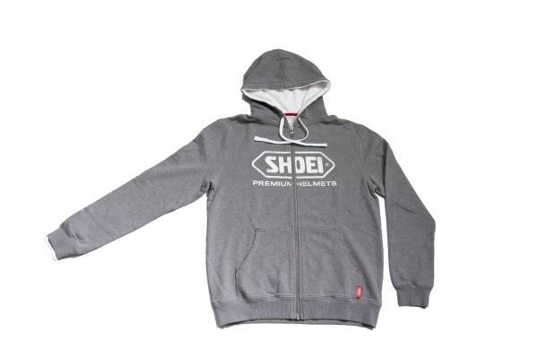 Shoei Zip Hoody grau in verschiedenen Größen